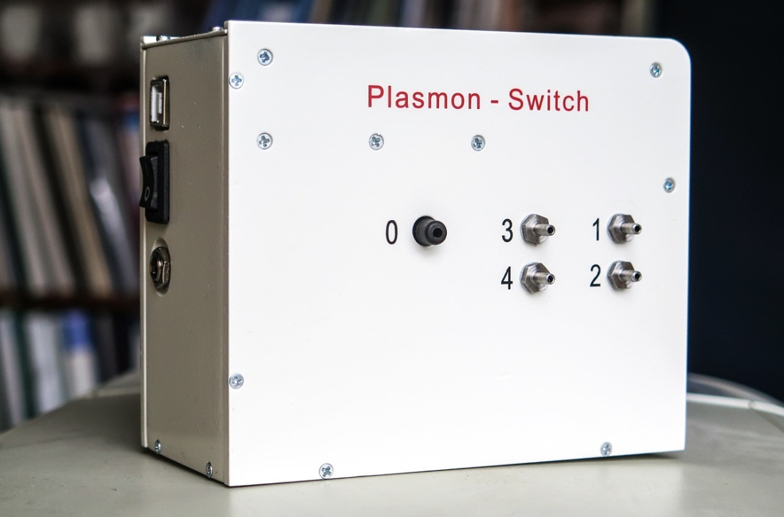 Plasmon-Switch